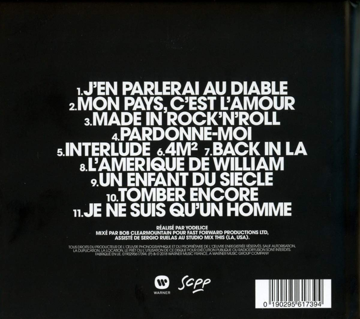 Mon Pays Cest Lamour Cd Collector
