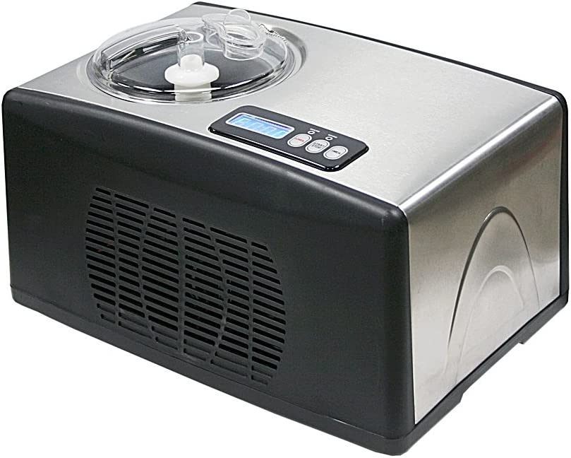 Whynter ICM-15LS Ice Cream Maker, Stainless Steel (Renewed)