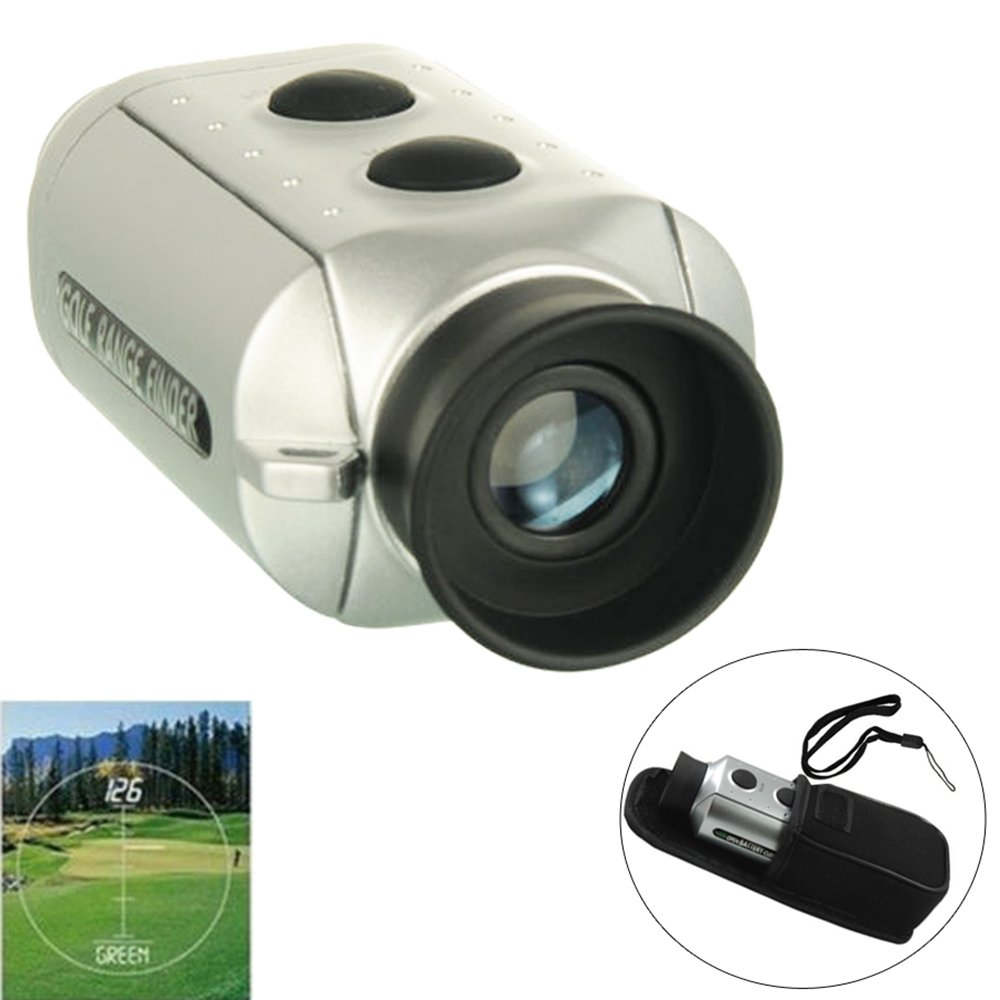 Digital 7x18 Golf Range Finder Optic Telescope Hunting Laser Rangefinder