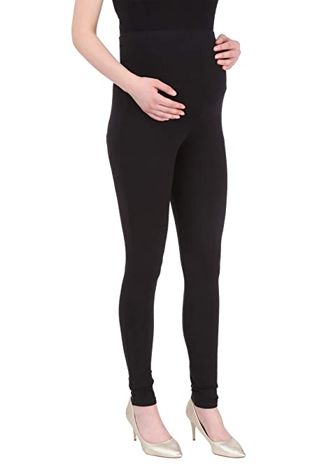 6d290a1386d7a MomToBe Women's Lycra Maternity Leggings: Amazon.in: Clothing & Accessories