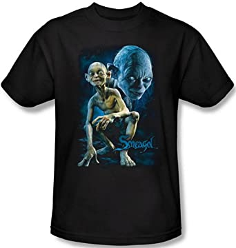 4a02151f Amazon.com: Lord of the Rings - Smeagol / Gollum Men's T-Shirt: Clothing