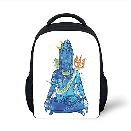 Amazon.com  iPrint Kids School Backpack Yoga 272492ef09a20
