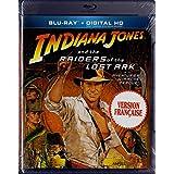 Indiana Jones et les Aventuriers de l'arche Perdue - Indiana Jones and the Raiders of the Lost Ark (English/French) 1981 (Widescreen) Cover Bilingue [Blu-Ray + Digital HD] Régie au Québec