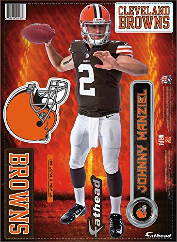 fbf2876a5f9 Johnny Manziel Cleveland Browns Memorabilia at Amazon.com