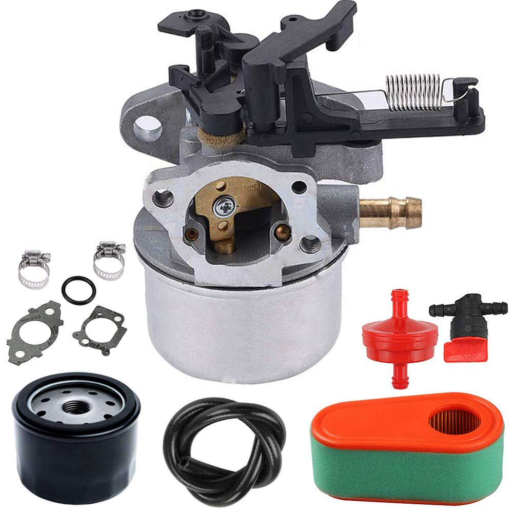 LIYYOO 591137 Carburetor for Briggs /& Stratton Replaces Include 590948 796608 Carb Kit Include Gaskets Air Filter Thermostat Choke Engines Parts Used for Husqvarna 775EX Lawnmower Snowblower