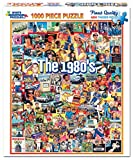 Best Jigsaw Puzzles For Adults - White Mountain Puzzles The Eighties - 1000 Piece Review