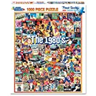 White Mountain Puzzles The Eighties – Piece Jigsaw Puzzle 1000