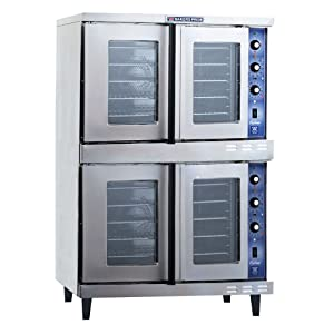 Bakers Pride Cyclone GDCO-E2 Full Size Double Electric Convection Oven, 38 1/8 x 38 x 62 inch -- 1 each.