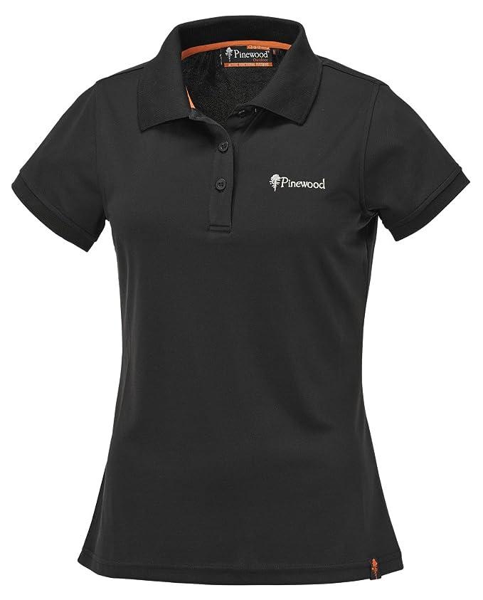 Womens Pinewood Womens Ramsey Shirt Ramsey Damen Poloshirt