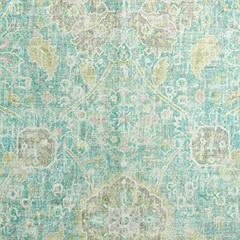 Image of Home and Kitchen 25 Yard Roll P-Kaufman Sariz Blue Pool 54' Fabric 100% Polyester