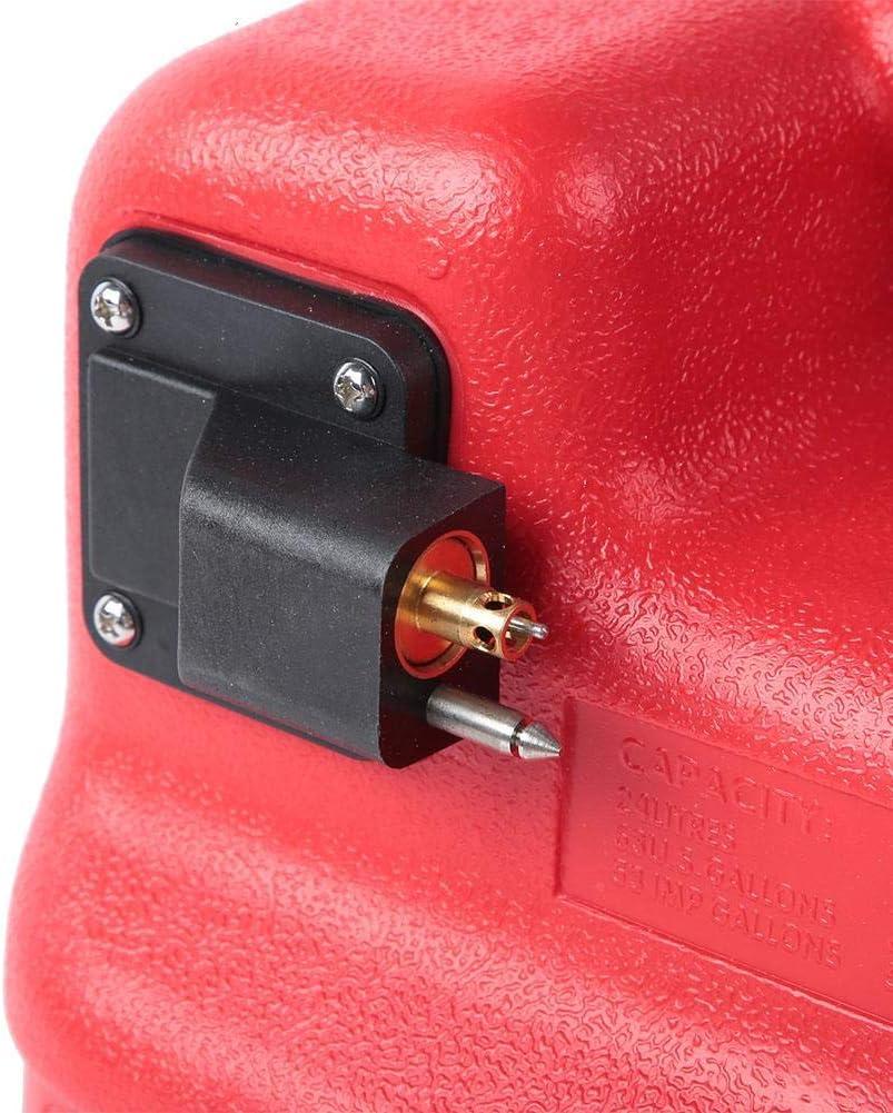 Alomejor R/éservoir de Carburant pour Bateau 24L Portable Bateau de Moteur de Moteur R/éservoir de Carburant ext/érieur pour bo/îte /à Huile