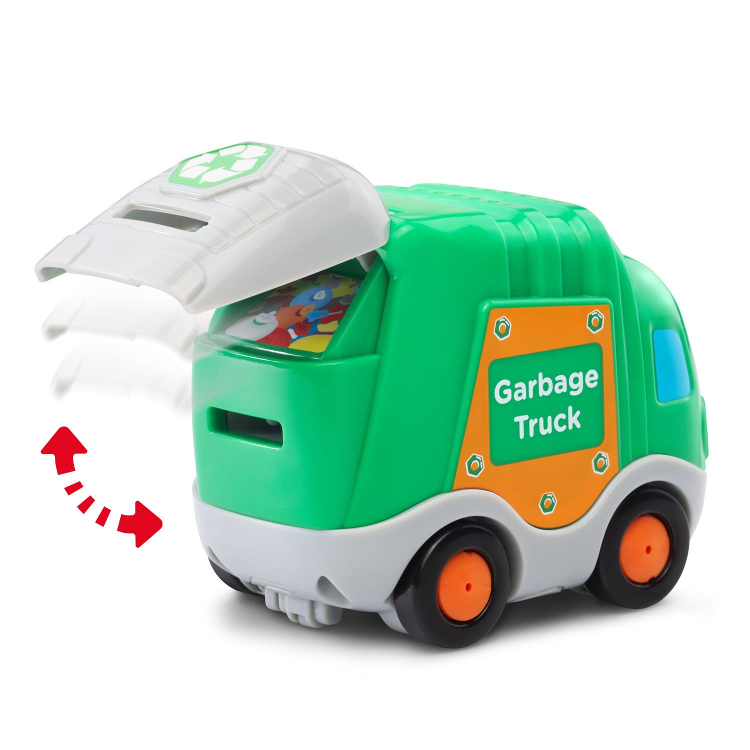 VTech Go! Go! Smart Wheels Garbage Truck and Excavator by VTech (Image #2)