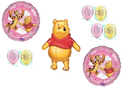 e89d52de13d6 Image Unavailable. Image not available for. Color  DalvayDelights Winnie  The Pooh Baby Girl ...
