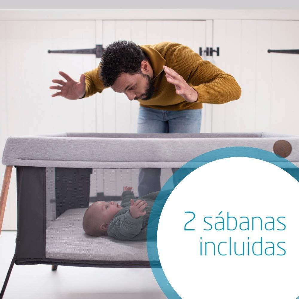 2009455110 set 2 sabanas color gris y blanco Maxi-Cosi S/ábanas Cuna Iris Para El Colch/ón Maxi-Cosi Iris
