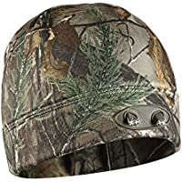 Panther Vision CUBWB-4539 - Headlamp 4 LED Warm Beanie Cap, Hands-Free (RealTree Xtra Camo) by POWERCAP