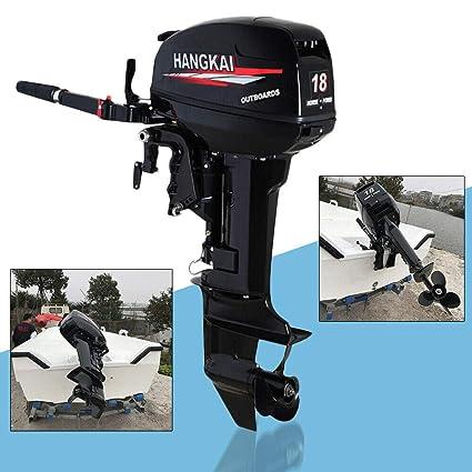 Amazon com : KPfaster Fishing Boat Engine Motor 18HP 2