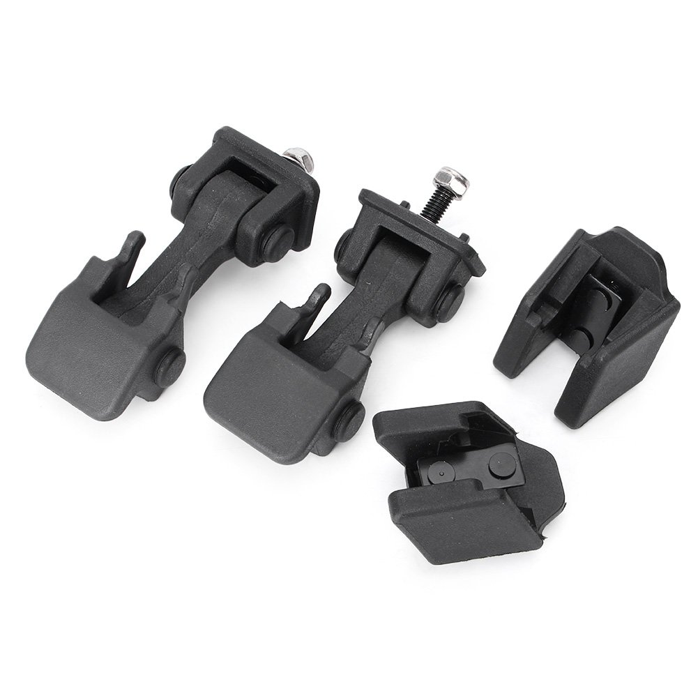 Timmart Lower Hood Latches & Upper Hood Catch Brackets For 1997-2006 Jeep Wrangler Tj by Timmart (Image #2)