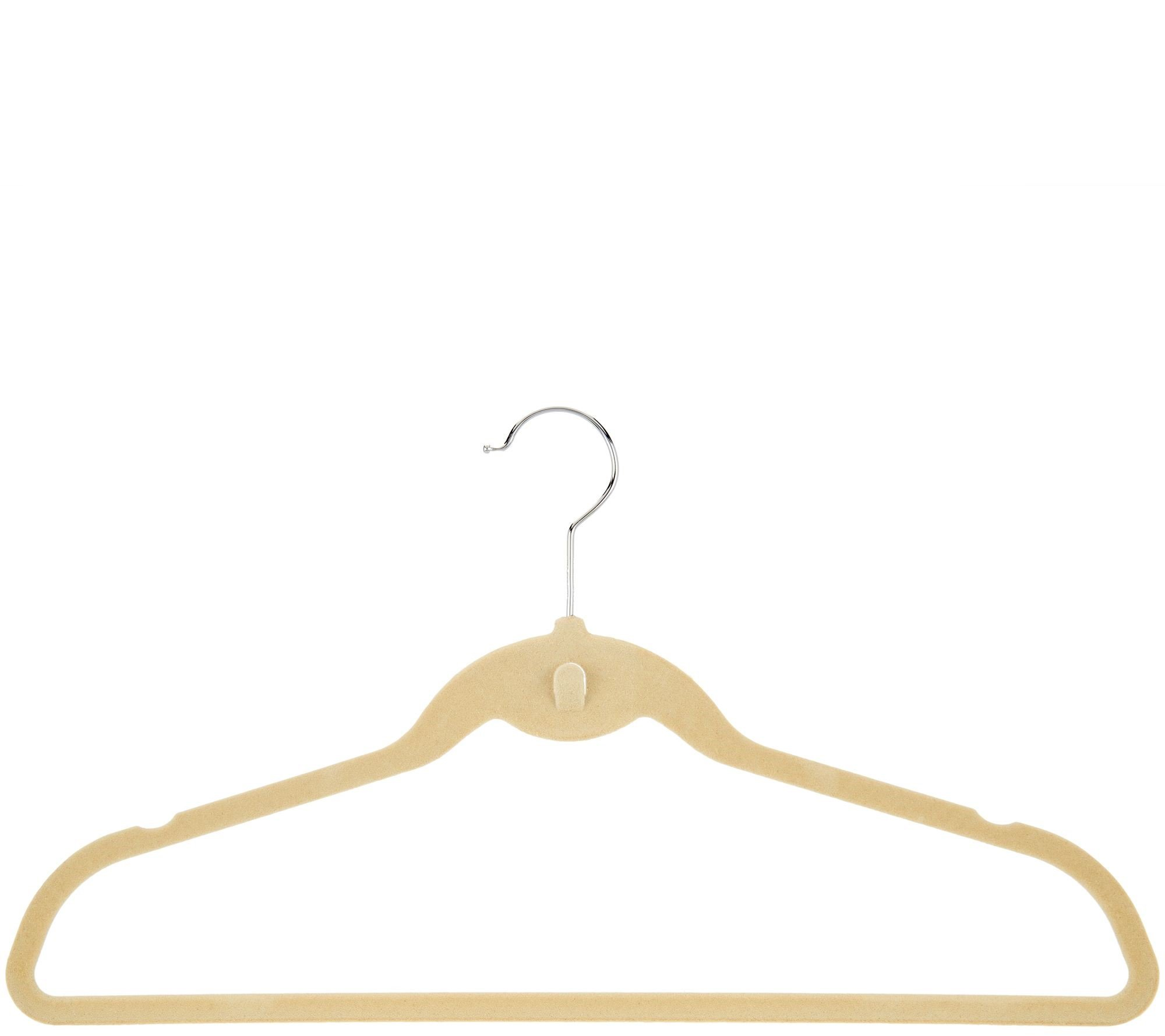 Space Saving, Organizational, Cascading Hangers, Cascade Hangers in BLACK - Pack 40 Space Saving Cascading by Dead Sea Spa Care (Image #1)