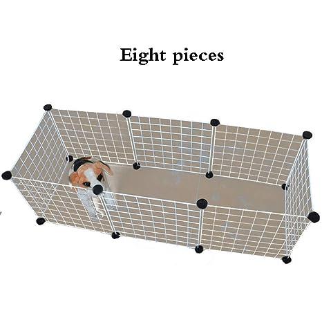 Valla para Mascotas pequeña y Mediana para el hogar Alambre para Gatos Cerca del Perro Fácil