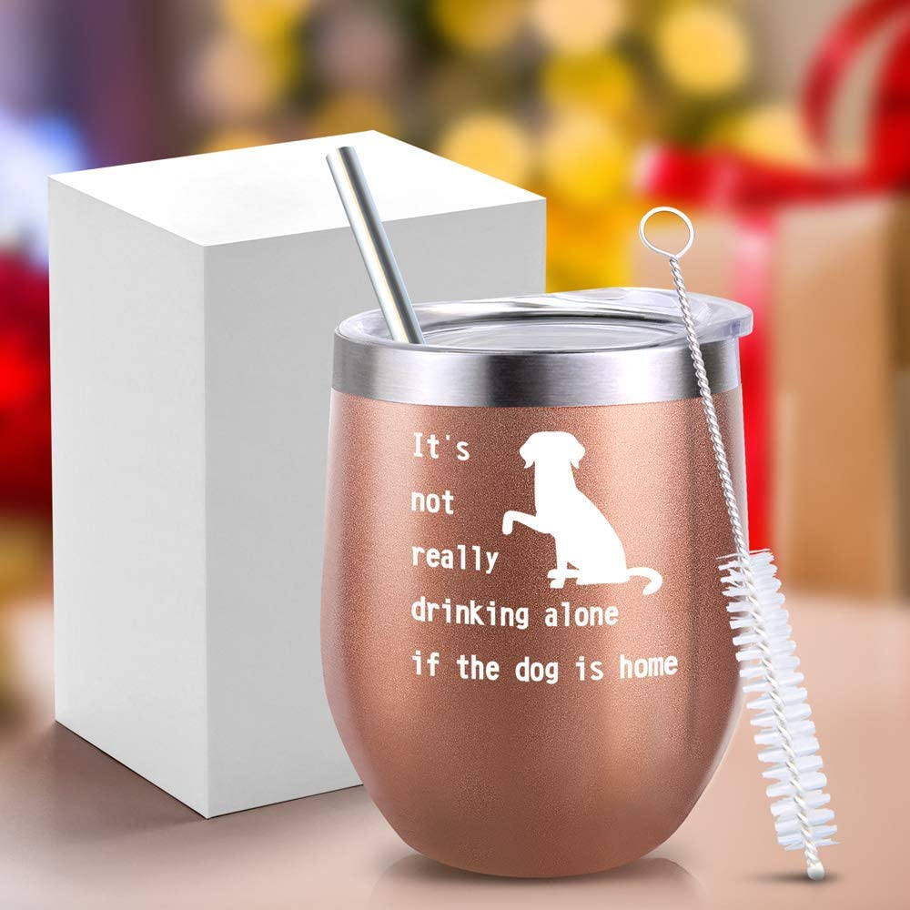 Inspirational Gifts Inspirational Gift for Women Beautiful Girl You Can Do Amazing Things Birthday Wine Gifts Ideas for Women Girl 12oz Insulated Wine Tumbler with Lid Inspirational Gift for Girl