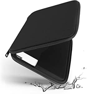 Smatree 12.9 Tablet Sleeve Hard Case for 12.9 inch New iPad Pro 2021-2018, iPad Pro 12.9 4th Gen 2020 with Smart Keyboard Folio and Magic Keyboard, Surface Pro 7 12.3inch Sleeve Bag, Black