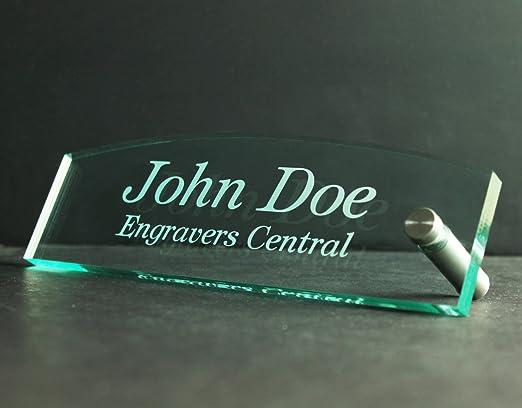 Personalizado oficina escritorio/mesa nombre placa 3/8