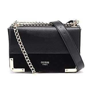Image Unavailable. Image not available for. Color  Guess Tepper Ladies  Small PU Leather Crossbody Bag VG679321BLA 286e56d74c