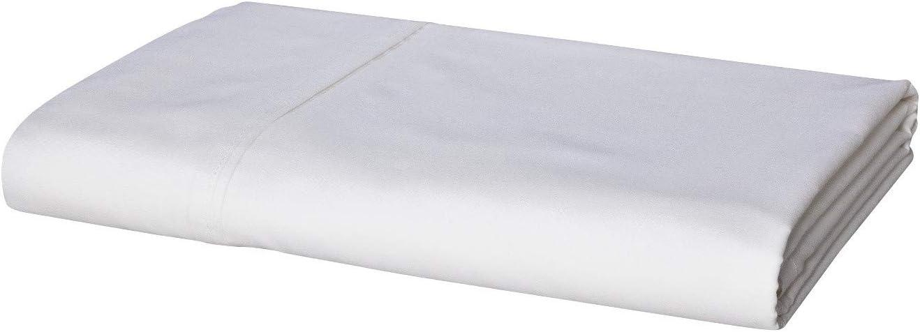 Threshold Flat Sheet White Ultra Soft XL Twin 300 Thread Count 100/% Cotton