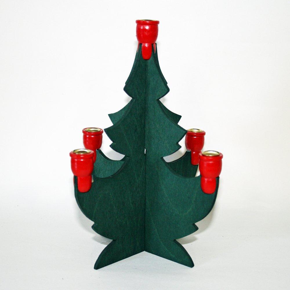 Swedish Christmas Tree Candleholder - 8'' by ScandinavianShoppe