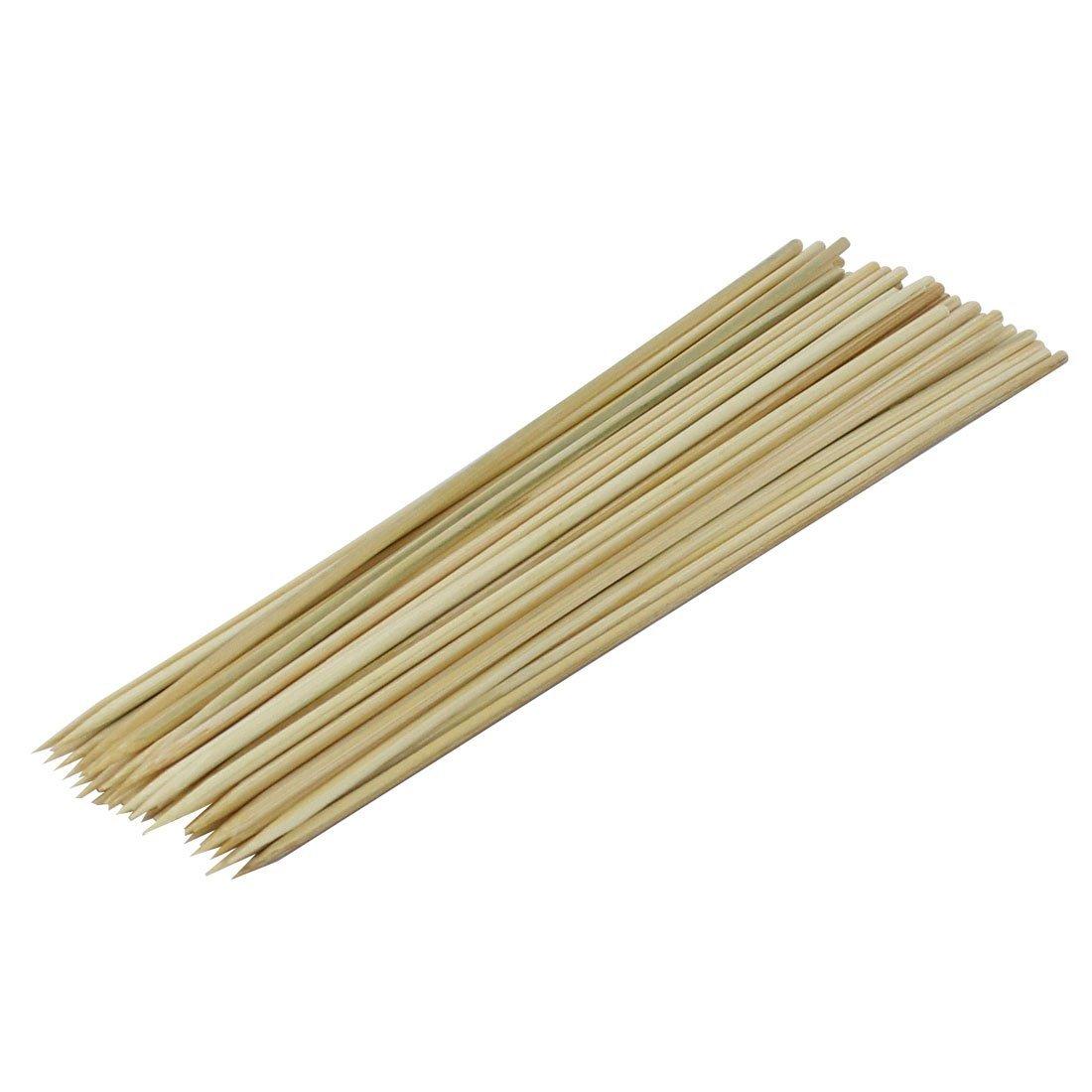 Amazon.com: eDealMax bambú Picnic Hot Dog aguja de la barbacoa del palillo DE 25 cm de Largo 50 piezas Beige: Home & Kitchen