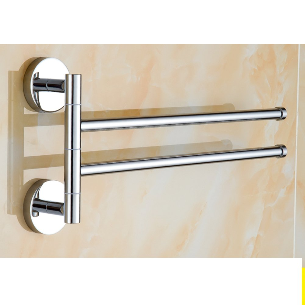 Brass Towel rack real heart activity/rotary-towel rod/Bathroom Bathroom Towel Bar-O chic
