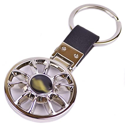 Amazon Champled Hyundai Emblem Keychain Keyring Logo Fashion