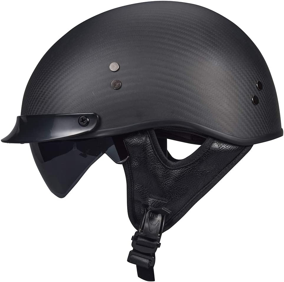 VCOROS gift Carbon Fiber Open Face Helme Shield Crusie All stores are sold Motorcycle Sun