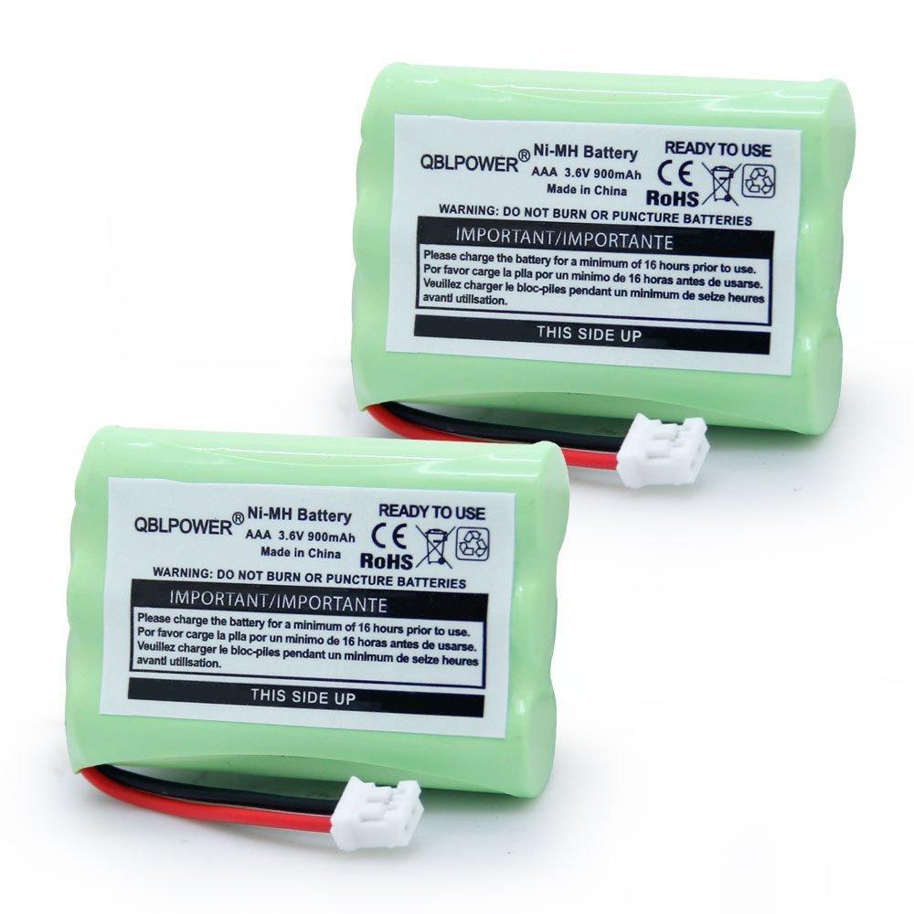 QBLPOWER MBP33 MBP36 Battery Compatible with Motorola Baby Monitor MBP33S MBP33PU MBP33BU MBP33P MBP36S MBP36PU MBP35 MBP41 MBP43 900mAh 3.6V