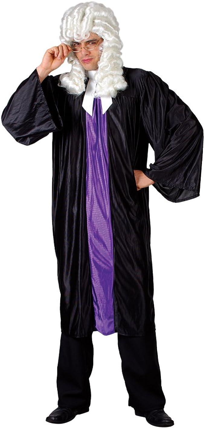 Disfraz de juez de alta para hombre talla única o de Plus Size ...