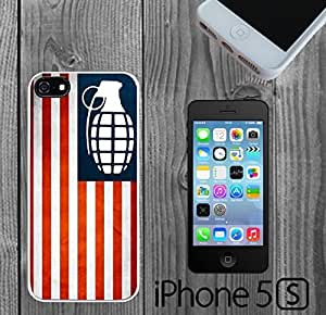 American Flag Gernade Nation Custom made Case/Cover/Skin FOR iPhone 5/5s