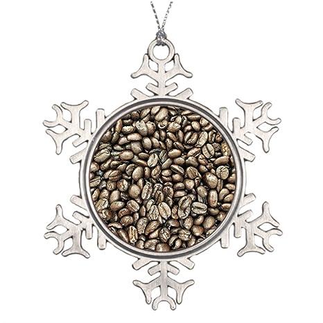 Albero Di Natale Java.Alberi Di Natale Decorato Struttura Chicchi Di Caffe Struttura