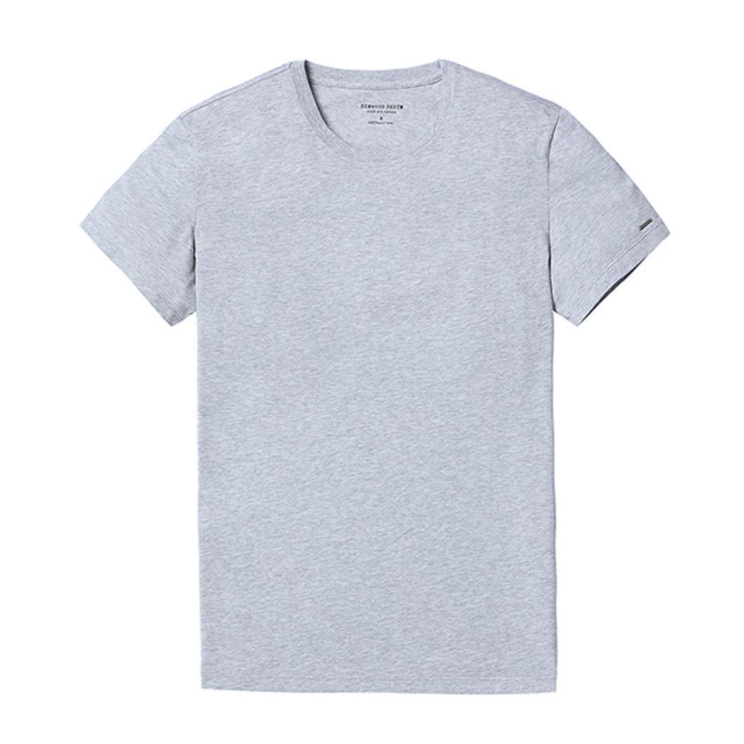 T Shirt Men Casual Tops 100/% Cotton Comfortable Plus