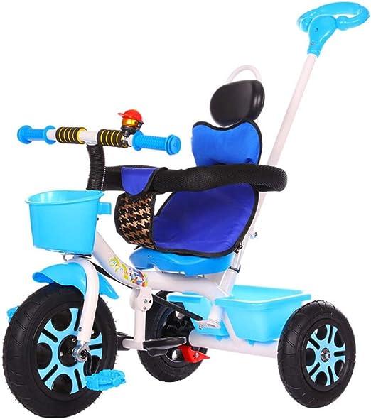 Triciclo Infantil Baby Balance Bicicletas Bicicletas Bicicletas Niños Caminantes Juguetes Paseos con pedales Infantiles 3 ruedas Bicicleta para niños de 1-6 años de edad Ajuste de 6 meses a 6 años: Amazon.es: Hogar
