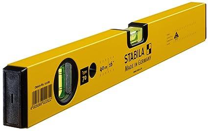 Stabila 02282 Nivel de Burbuja, 40cm