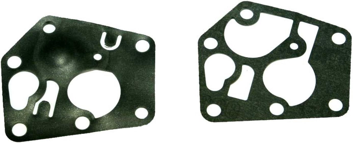 Vergaser Membran Dichtungen Vergaser Motor für Briggs /& Stratton Sprint 3.5hp