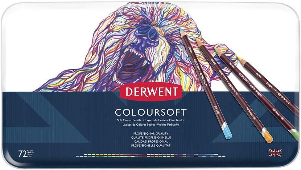 Derwent ColourSoft Colored Pencils