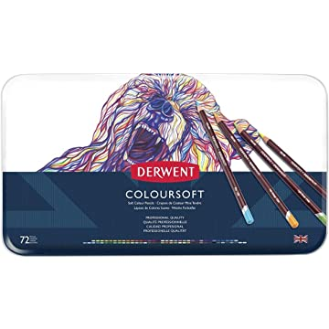 reliable Derwent Coloursoft