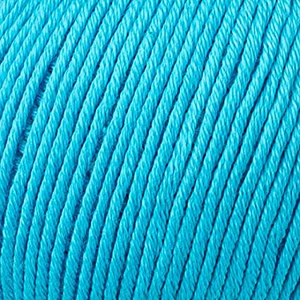 Dark Blue 3 Light DK 434 Total 8.8 Oz Gazzal Organic Baby Cotton Yarn 115 m 50g 5 Ball // 125 Yrds Pack Each 1.76 Oz 100/% Organic Cotton