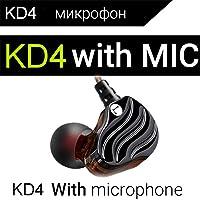 KD4 - Auriculares de diadema con micrófono integrado