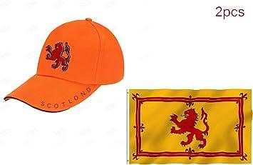 Conjunto de 2 Piezas Gorra de Béisbol Escocia León Escocés ...