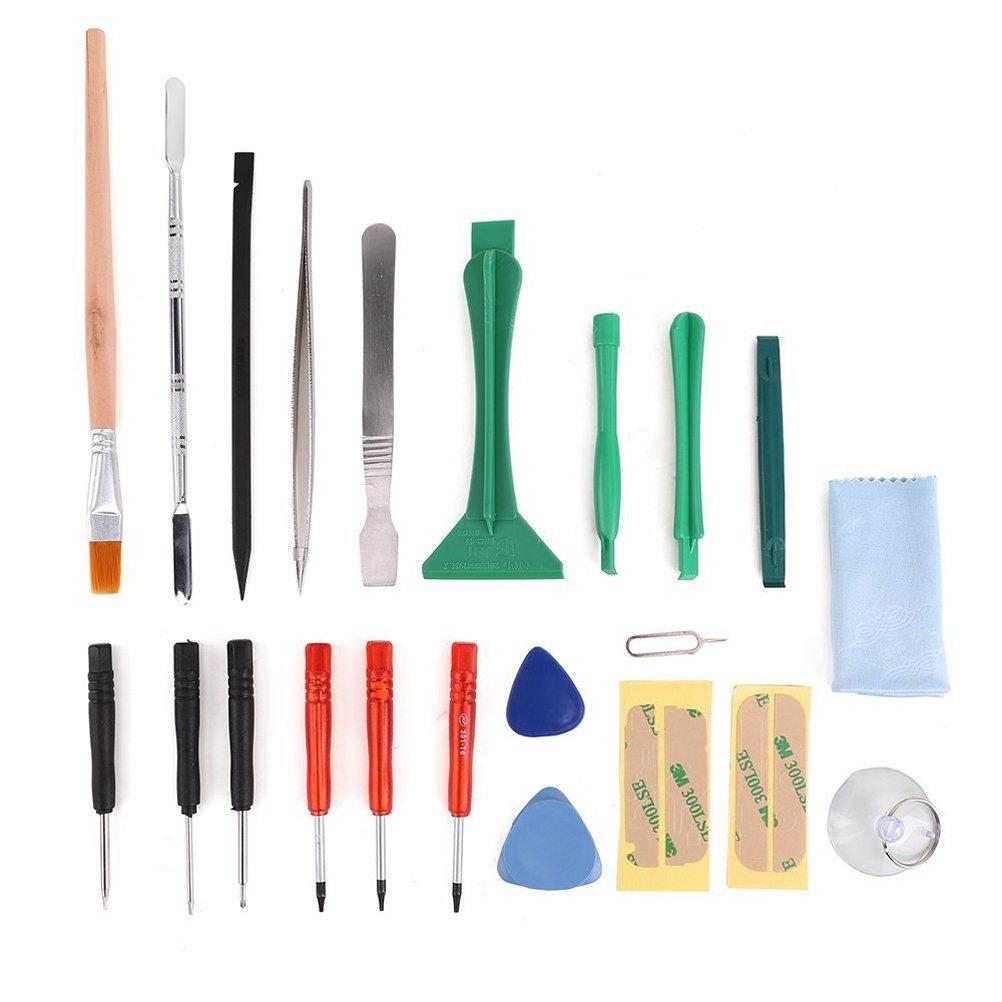 UEETEK Profesional móvil reparación apertura Pry Spudger destornillador Kit de herramientas para iPhone