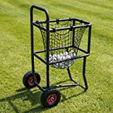 Baseball Ball Carry Cart – The Ultimate Batting Practice Aid – Stores Up To 300 Baseballs! [Net World Sports]