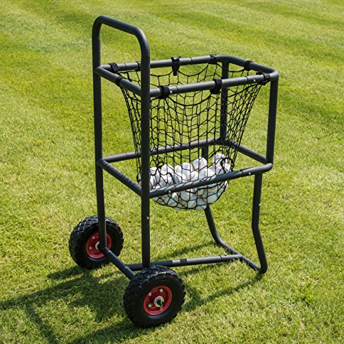 (Fortress Baseball Carry Cart [300 Ball Capacity] | Transport Baseballs with)