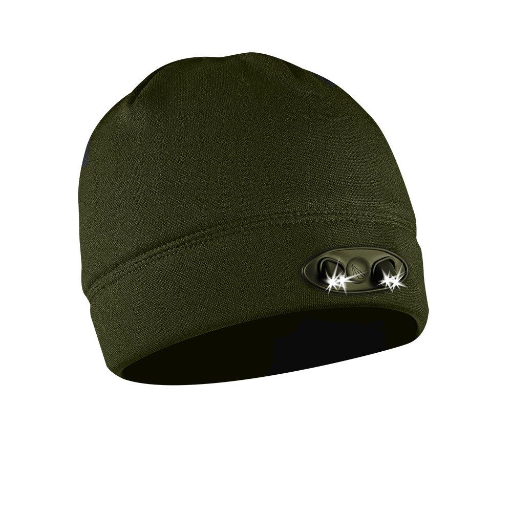 Panther Vision Beanie-Mütze Vier LED-Kopflampen Für Joggen, Radfahren, Camping, Sportspiele, Angeln, Autofahren Und Handwerken